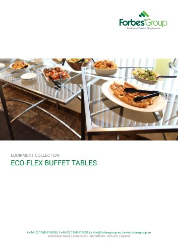 ECO-FLEX BUFFET TABLES