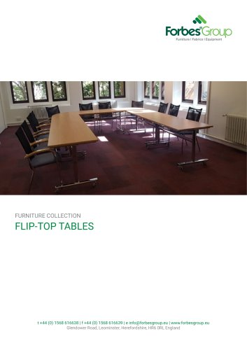 FLIP-TOP TABLES