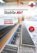 Fassadenrinne Stabile Air