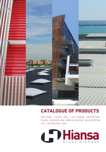 CATALOGUE OF PRODUCTS - RESUME