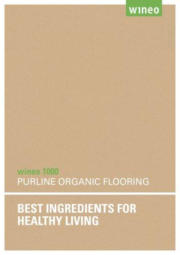 PURLINE organic flooring wineo 1000