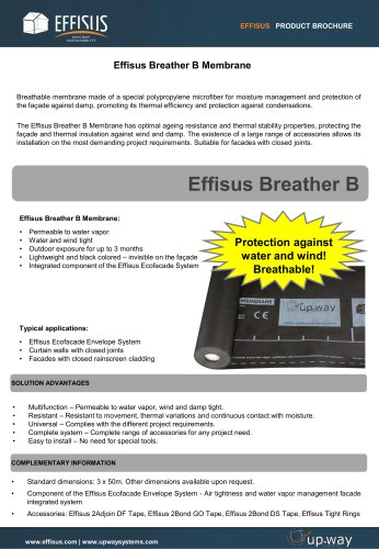 EFFISUS BREATHER B