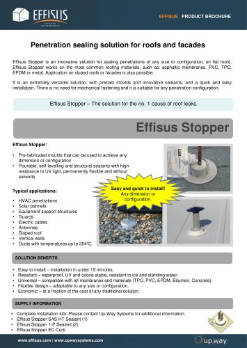 EFFISUS STOPPER