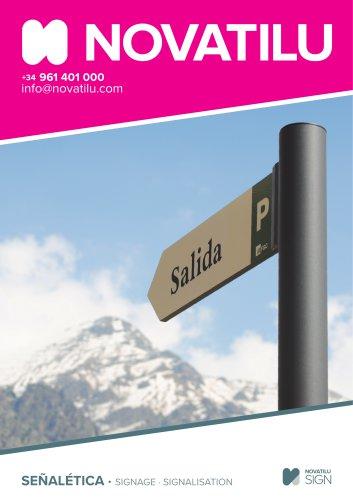 Signage Catalogue