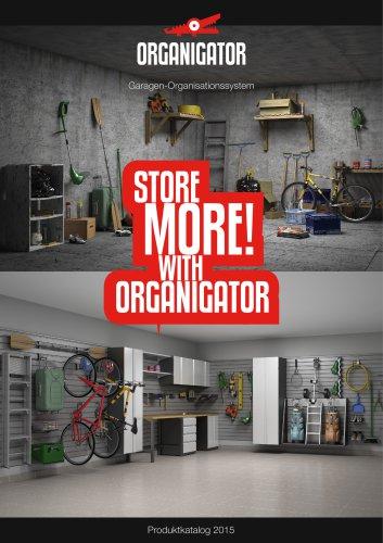 Organigator – Garagen-Organisationssystem 2015