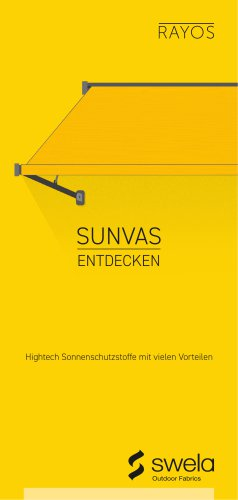 sunvas Produktflyer
