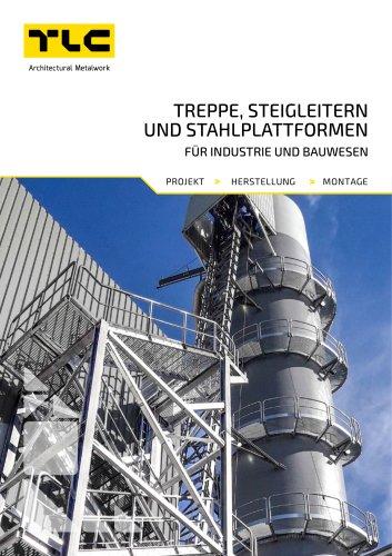 Treppe, Steigleitern und StahlplattformenE