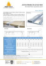 Seismic floor expansion joint - JDH 6.29