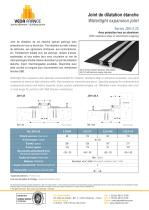 Watertight expansion joint - JDH 5.25