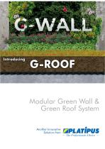 Modular Green Wall & Green Roof System