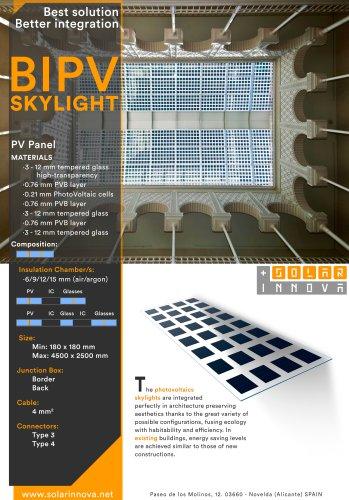 BIPV-Solar Photovoltaic Skylights