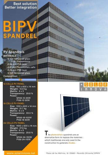 BIPV-Solar Photovoltaic Spandrels