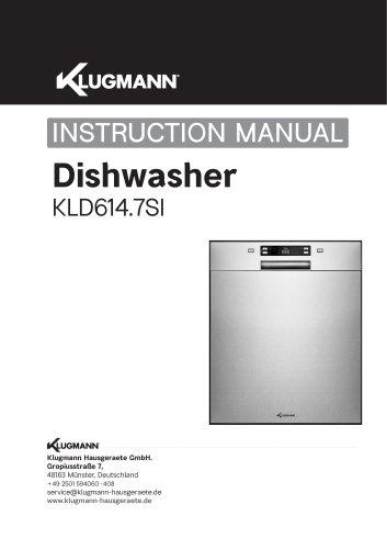Dishwasher KLD614.7SI