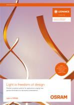 NEW! VALUE FLEX®, LINEARLIGHT FLEX® RGBW AND TUNABLE WARM WHITE