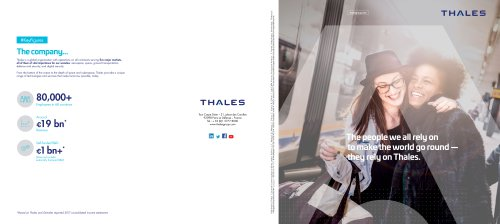 About Thales