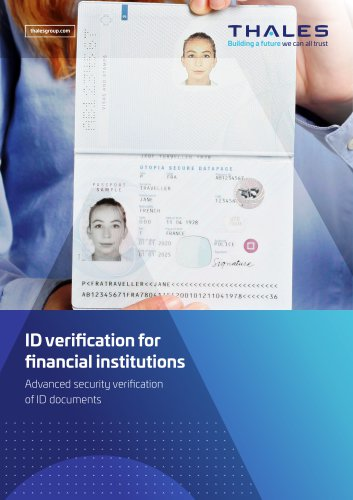 ID Verification for Financial Institutions