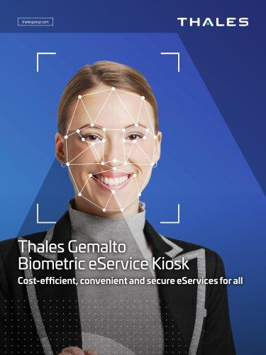Thales Gemalto Biometirc eService Kiosk