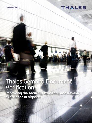 Thales Gemalto Document Verification
