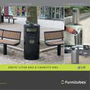 ZENITH ® LITTER BINS & CIGARETTE BINS