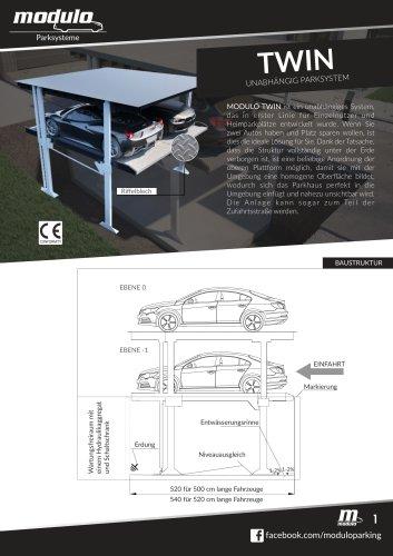 TWIN - technische karte