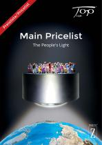 Top Light - Main Pricelist