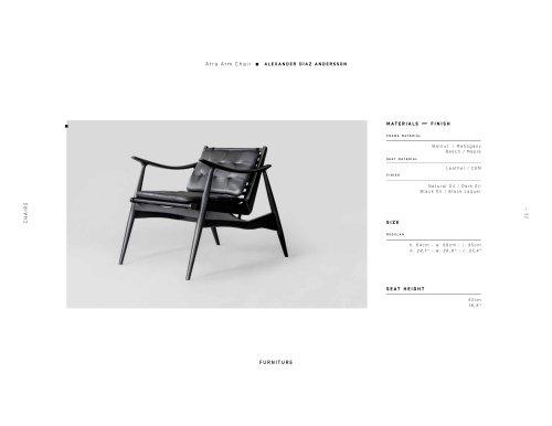 Atra Arm Chair