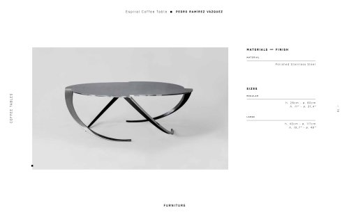 Espiral Coffee Table