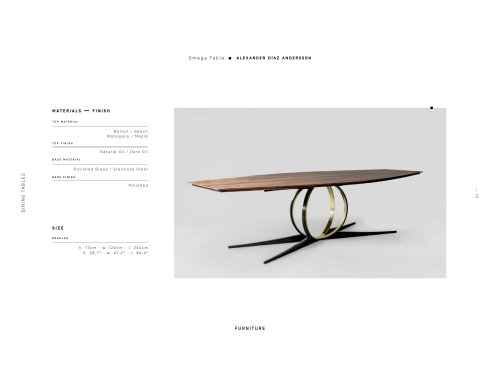 Omega Table