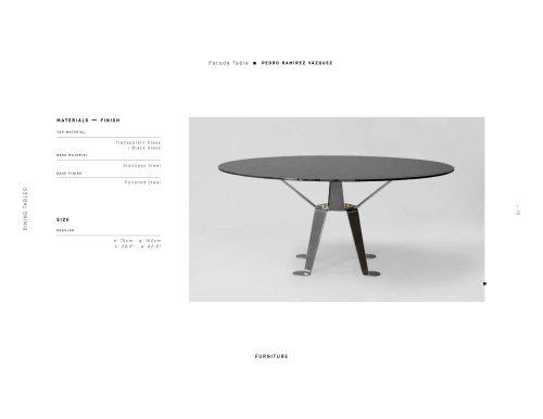 Patuda Table