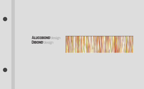 ALUCOBOND® design decor collection