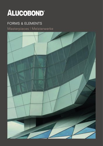 ALUCOBOND® Forms & Elements Masterpieces