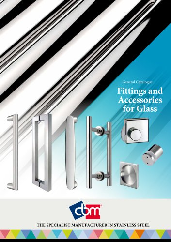 General Catalogue Fittings and Accessories for Glass