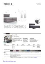 AR-100-10-10-10-001 - Double Bed - Data Sheet