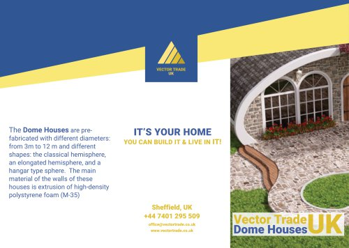 Dome houses Leaflet