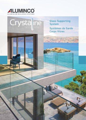 Crystal line railing system