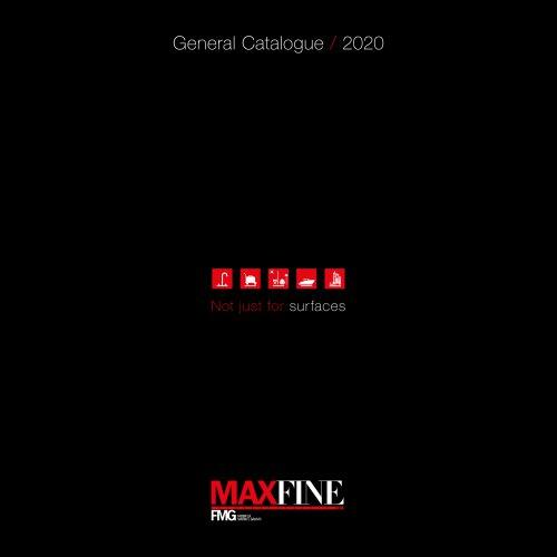 General Catalogue / 2020 MAXFINE