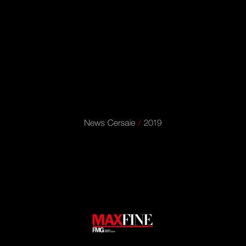 News Cersaie / 2019 MAXFINE