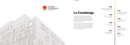 Klinker Covadonga Glazed Brick Brochure