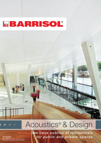 Barrisol Acoustics & Design