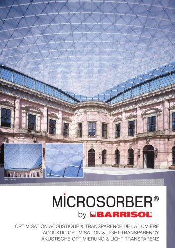 MICROSORBER by Barrisol AKUSTISCHE OPTIMIERUNG & LICHT TRANSPARENZ