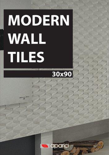 MODERN WALL TILES 30X90