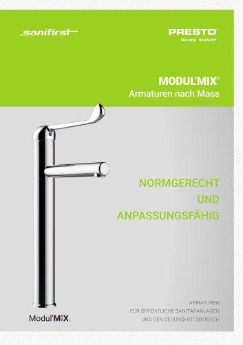 MODULMIX® - Armaturen nach Mass für den Gesundheitsbereich