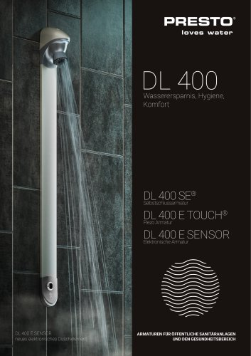 Serie DL 400 - Duschpaneel