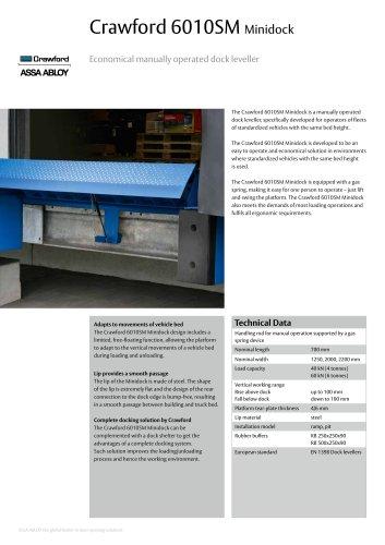 Crawford 6010SM Minidock