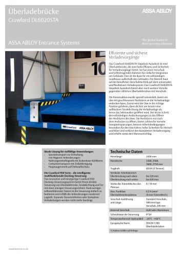 Crawford DL6020STA step autodock