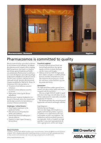 Crawford, Pharmacosmos Denmark
