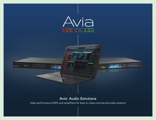 Avia™ Audio Solutions Brochure