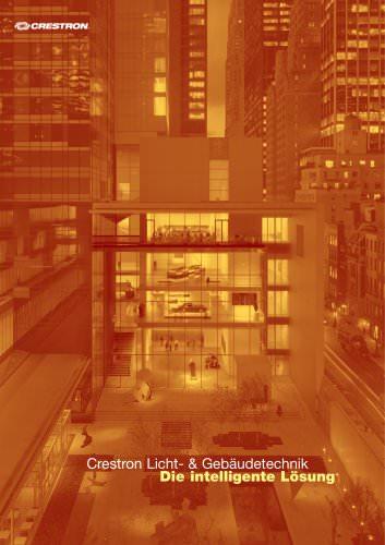 Crestron Licht- & Gebäudetechnik