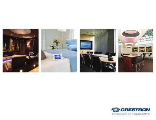 The Crestron Difference (Corporate Brochure)