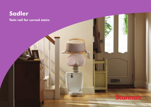 Sadler - Twin rail for curved stairs